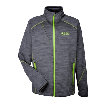 Picture of Men's North End Flux Melange Bonded Fleece Jacket