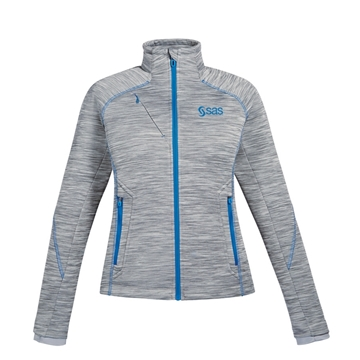 Picture of Women's North End Flux Melange Bonded Fleece Jacket